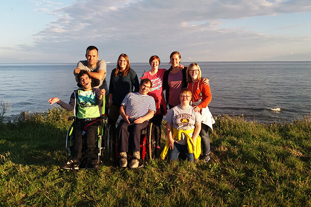 Reisen für Behinderte, Gruppenreisen für Erwachsene