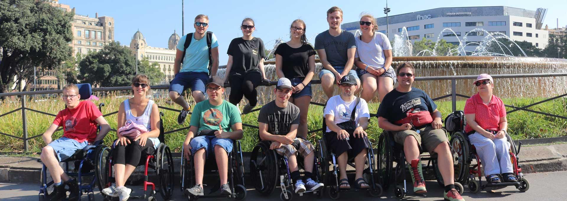 Reisen für Behinderte - Rollstuhlurlaub Barcelona