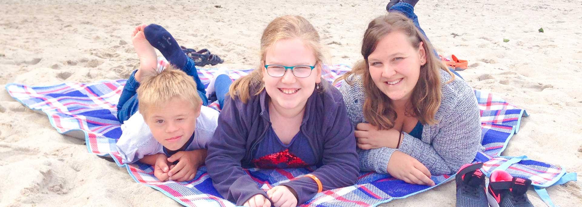 Reisen für Behinderte - Kinderreise an die Ostsee