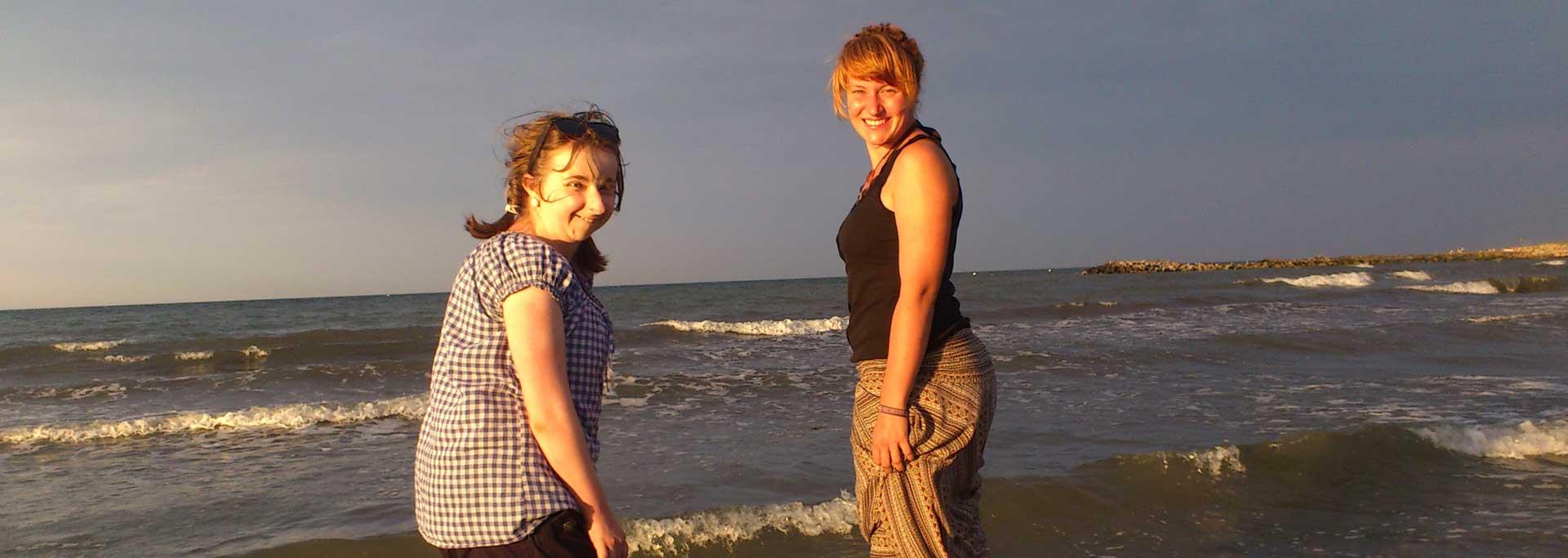 Reisen für Behinderte - Jugendreise an die Ostsee