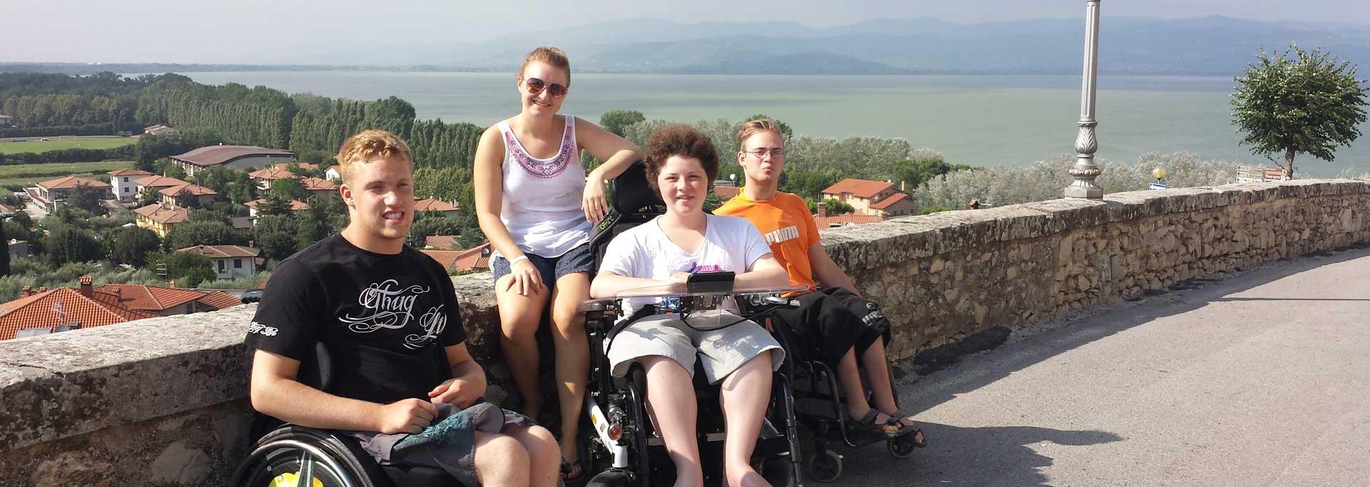 Reisen für Behinderte - Jugendreise in die Toskana