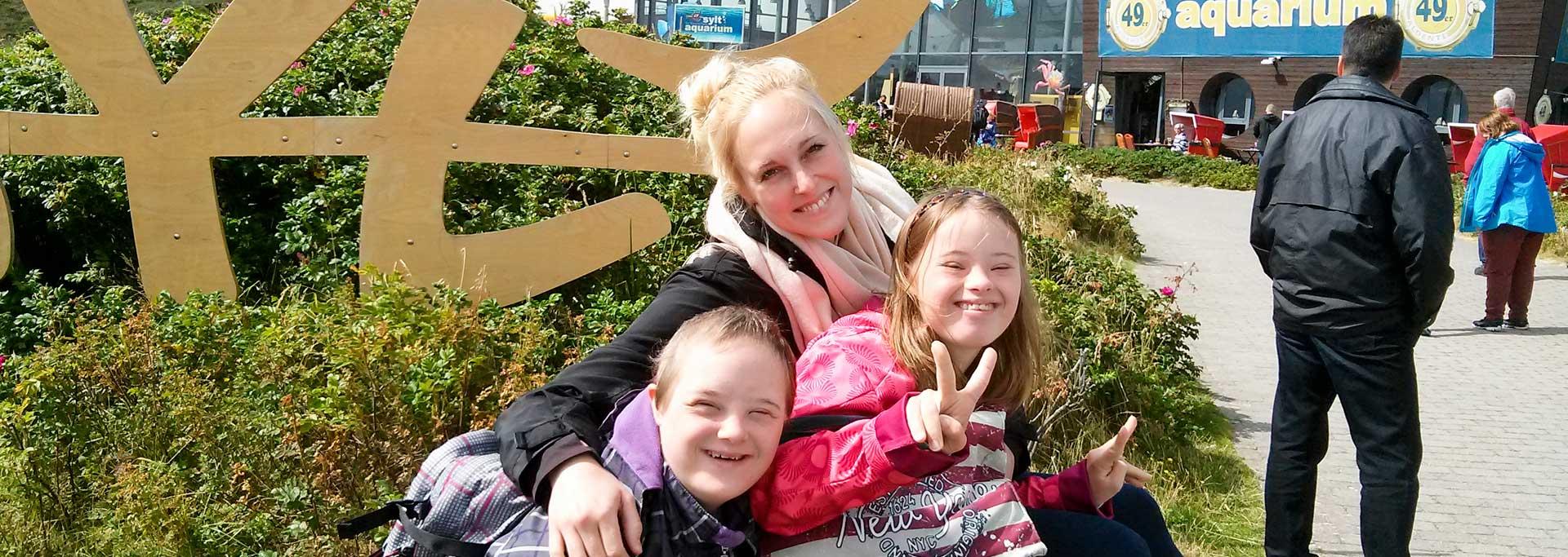 Reisen für Behinderte - Jugendliche auf Sylt
