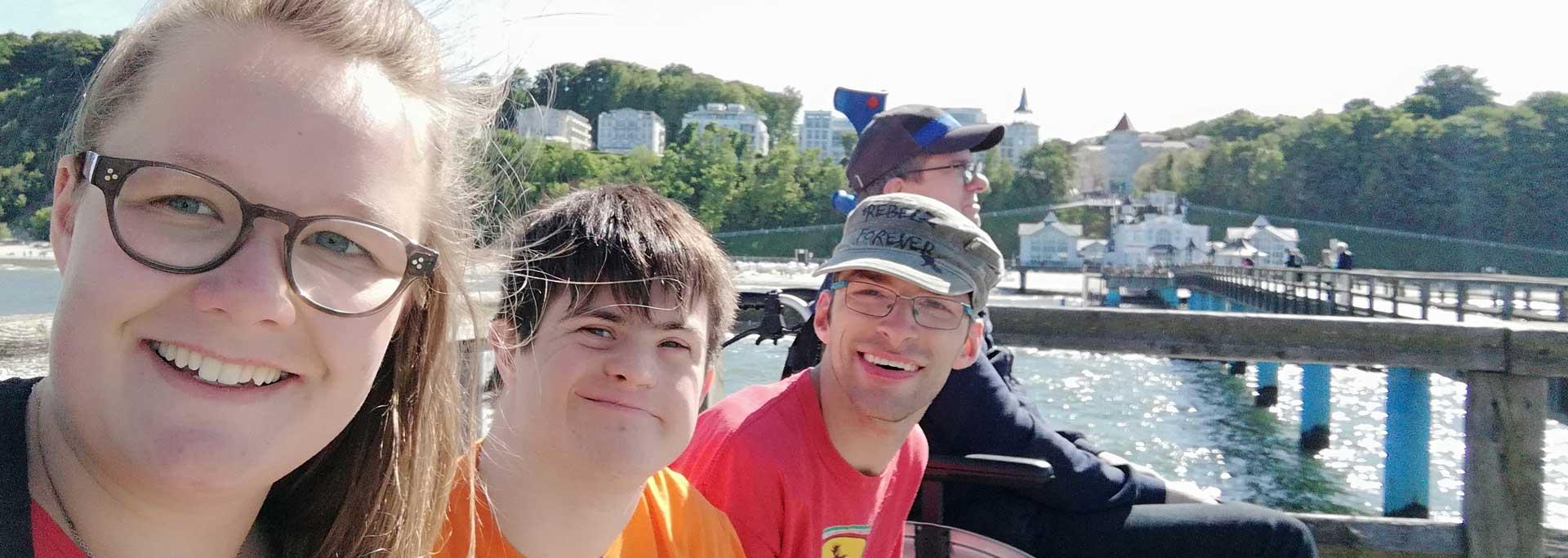 Reisen für Behinderte - Erwachsene Geistige Behinderung - Seebrücke