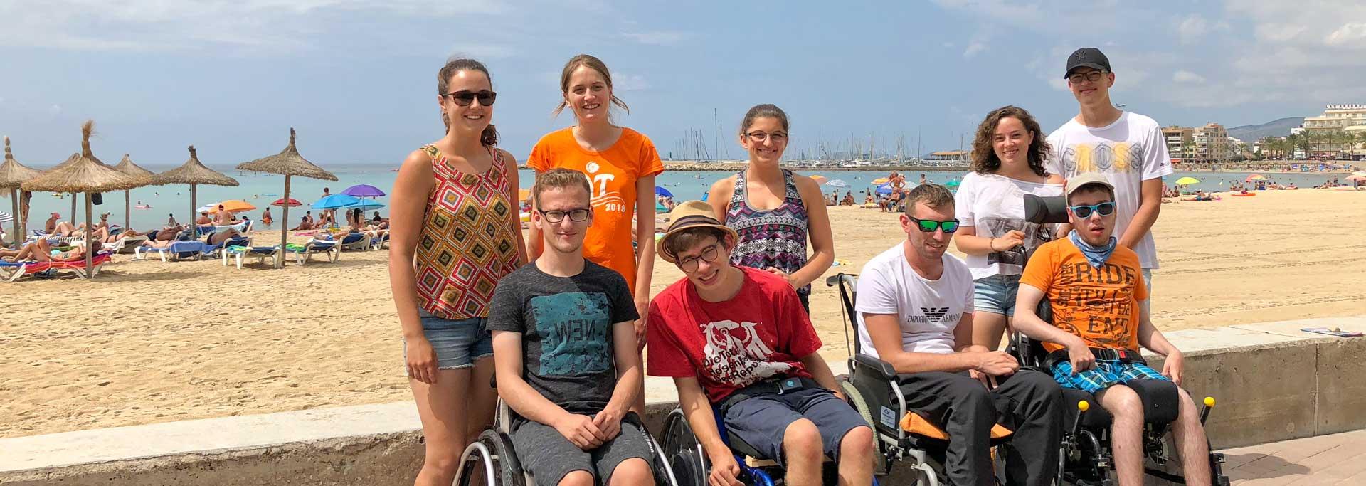 Reisen für Behinderte - Rollstuhlurlaub